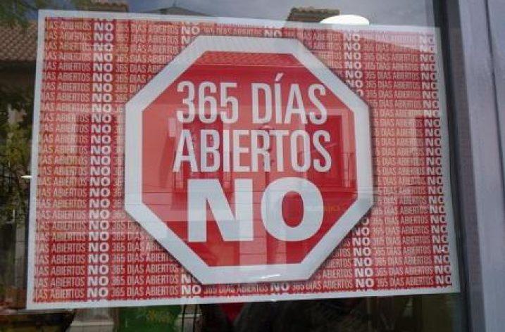 No se abrirán los comercios ni el 5 de marzo ni jueves santo