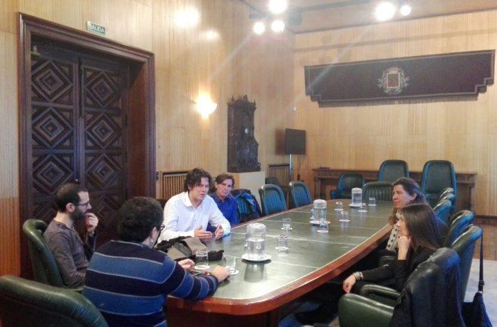 El Comité de Empresa de HP Enterprise Solutions se reúne con el Ayuntamiento de Zaragoza