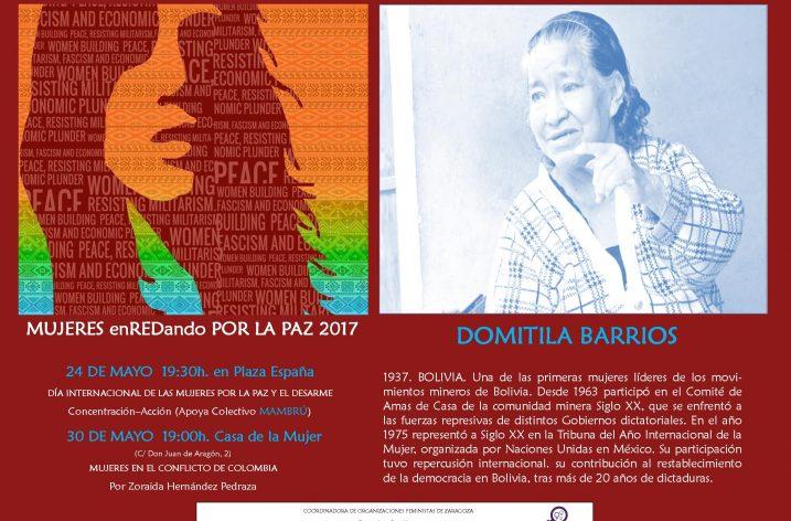 24 de Mayo, día Internacional de las Mujeres por la Paz y el Desarme