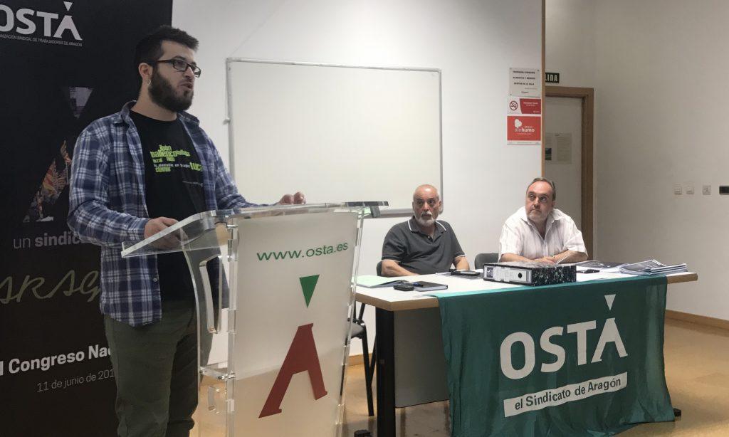 I Asamblea de la Federación de Trabajadores de Servicios Públicos de OSTA