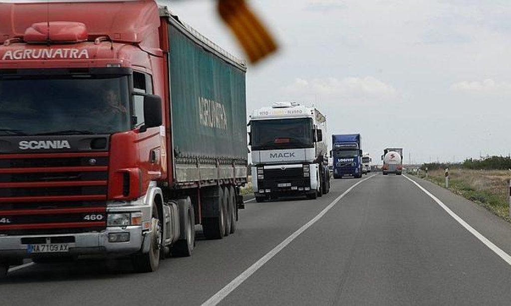 El transporte de mercancías y la logística irá a la huelga el 14,15 y 18 de diciembre.