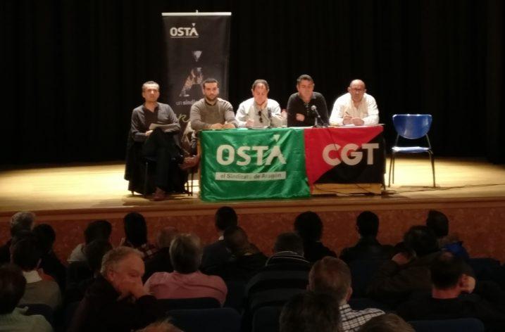 OSTA y CGT proponen una asamblea general en OPEL