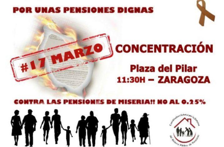 OSTA participará en las movilizaciones a favor de unas pensiones dignas