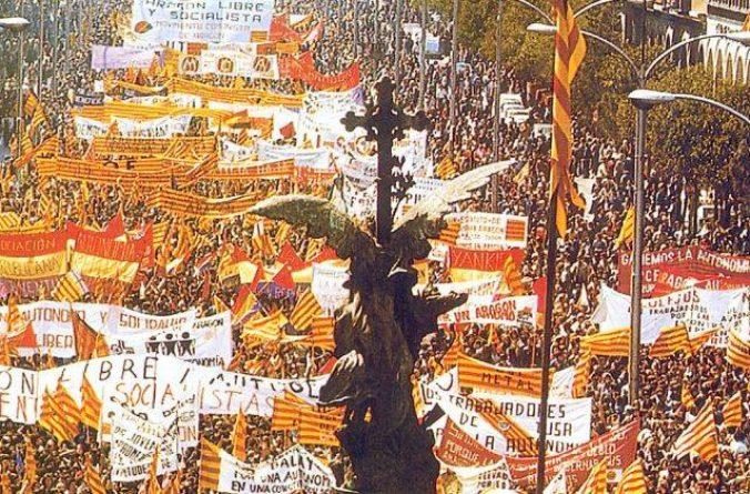 23 de Abril, 40 años de las manifestaciones de 1978