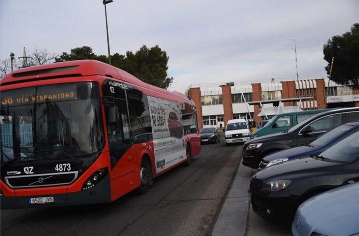 Cocheras de Avanza Zaragoza lleva 72 horas sin agua