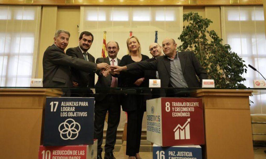 La Ley del diálogo social del Gobierno de Aragón, excluye a más del 30% de la representación sindical