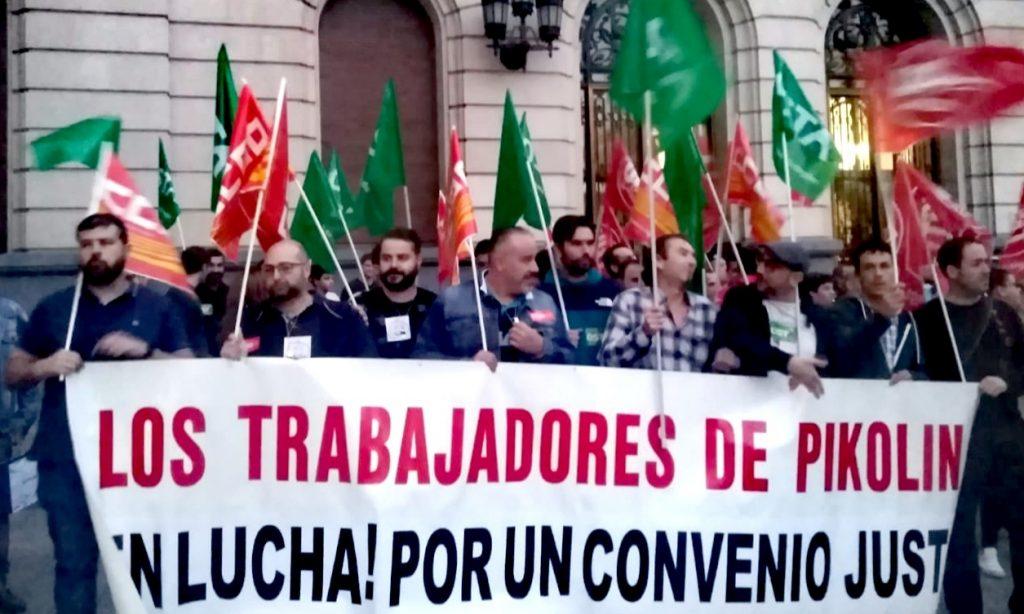 El comité de empresa de Pikolin convoca huelga de 24 horas para los días 24, 29 y 30 de octubre y a partir del 4 de noviembre indefinida