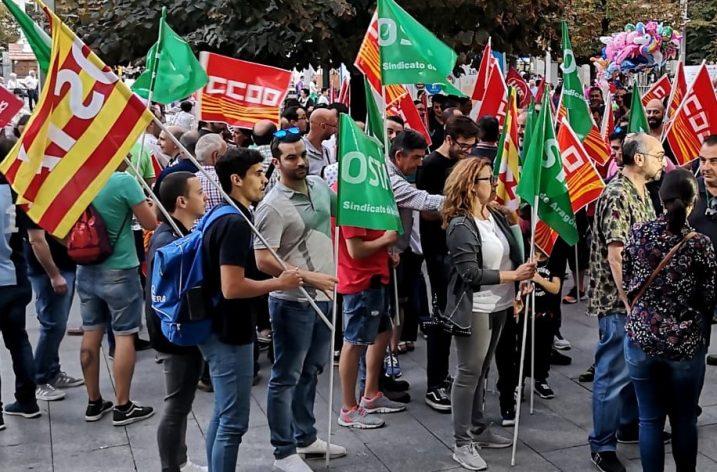 La plantilla de Pikolin en lucha por un convenio justo