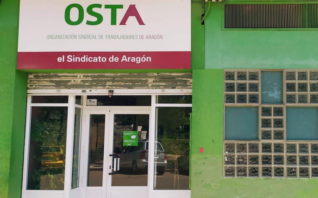 Reapertura de la sede de OSTA en Zaragoza