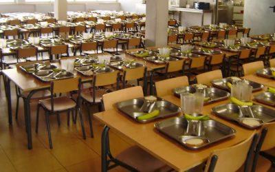 Los sectores de monitoras de comedor y restauración colectiva se concentran el 30 de septiembre