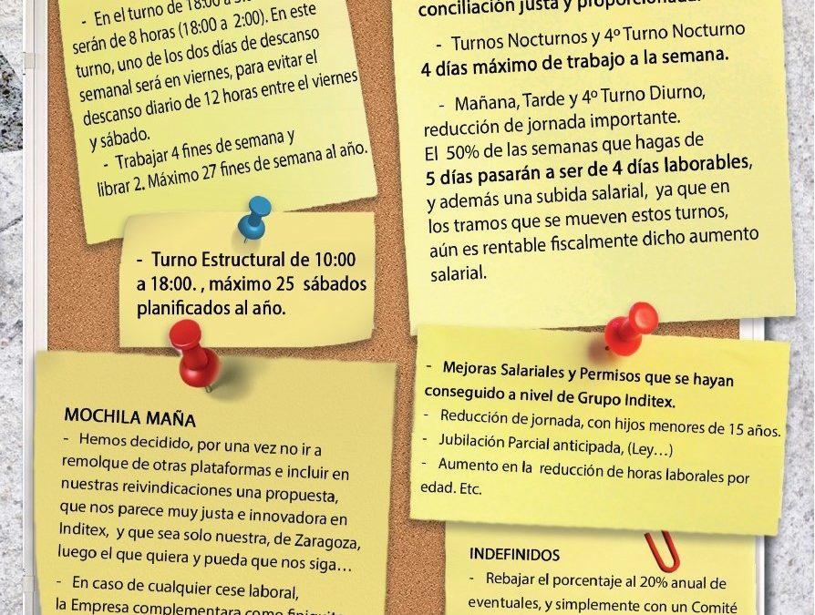 Elecciones sindicales Inditex