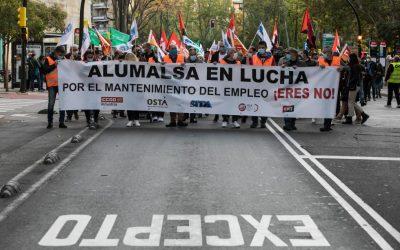 El 77.5% de la plantilla de Alumalsa apoya el preacuerdo alcanzado en el SAMA