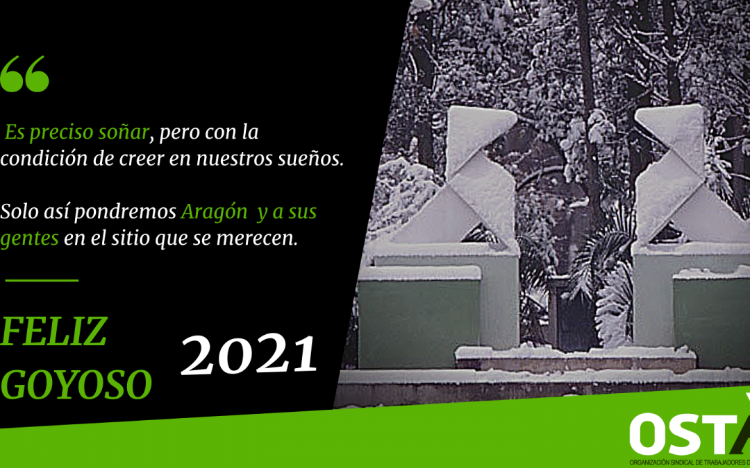 Que se cumplan vuestros sueños en 2021