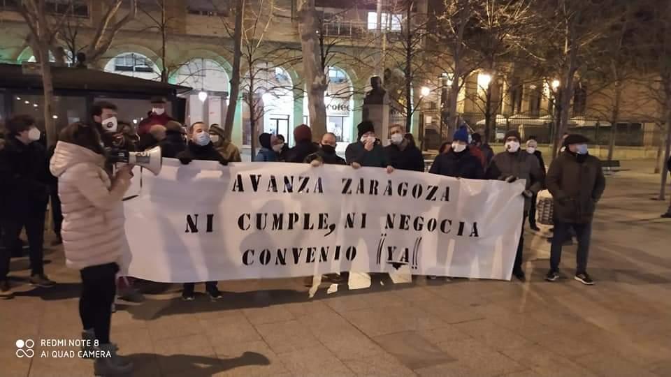 El Comité de AVANZA convoca concentraciones por la paralización de las negociaciones